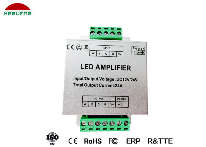 DC 12V LED Pool Light Controller , 4 Wires Connection RGBW LED Amplifier